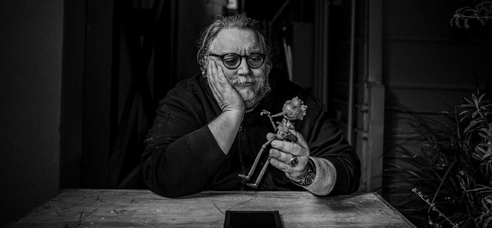 Guillermo del Toro e Pinocchio