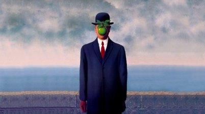 Il figlio dell'uomo di René Magritte