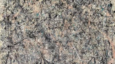 Il dipinto del 1950: Lavender Mist Number 1 e l'impronta della mano di Jackson Pollock