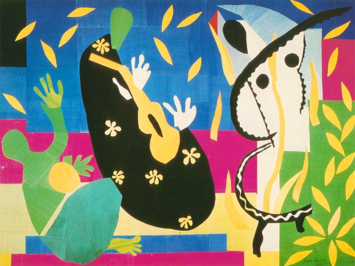 La tristezza del re è un dipinto (292x386 cm) realizzato nel 1952 dal pittore francese Henri Matisse.