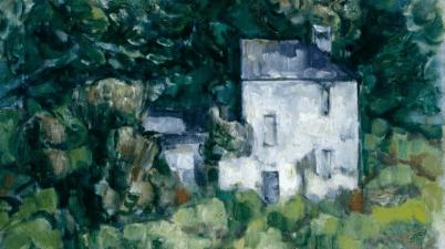 La casa bianca è un noto dipinto di Cristoforo De Amicis