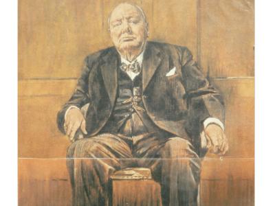 ritratto di Winston Churchill di Graham Vivian Sutherland