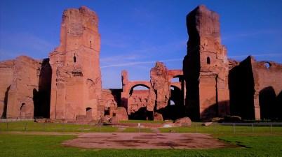 Terme di Caracalla Sunset