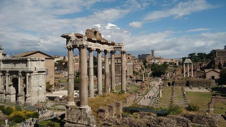 Foro Romano, centro storico, Roma
