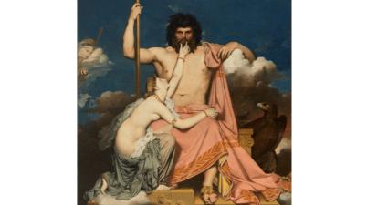 Giove e Teti Jean-Auguste-Dominique Ingres