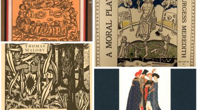 La letteratura straniera del Trecento e del Quattrocento in quattro grandi opere: I Racconti di Canterbury, Testamento e Lascito, La Morte Darthur ed Everyman.