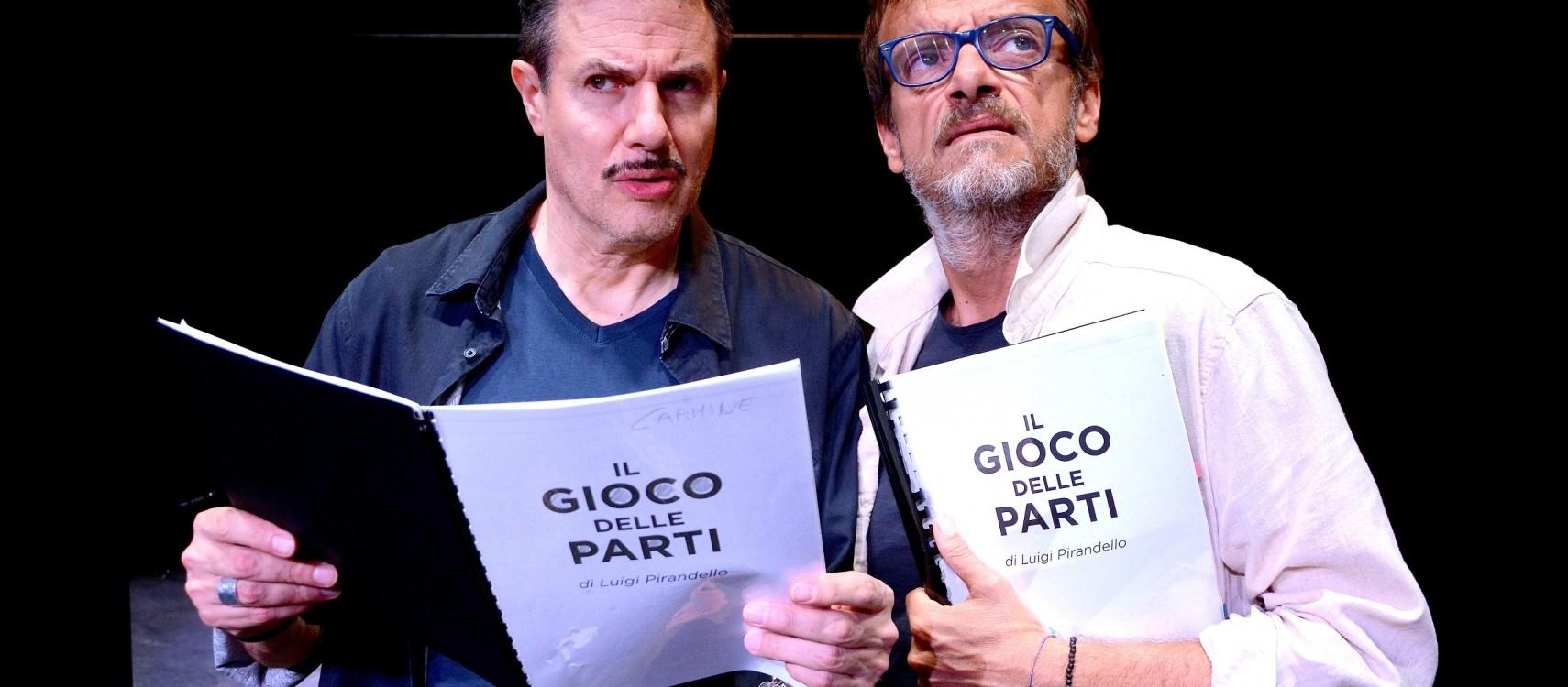 Il Teatro Sala Umberto riparte con il Pirandello pop di Gianluca Guidi e Giampiero Ingrassia