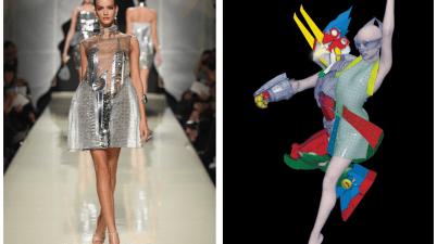 Robotizzati, in mostra al WeGil il binomio tra super robot e moda