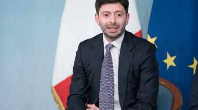 Ministro della salute Roberto Speranza per il nuovo DPCM