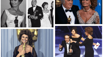 Sophia Loren agli Oscar