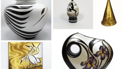 L'istante in un segno, le porcellane dell'artista italo-giapponese Yuriko Damiani ispirate alle poesie Haiku