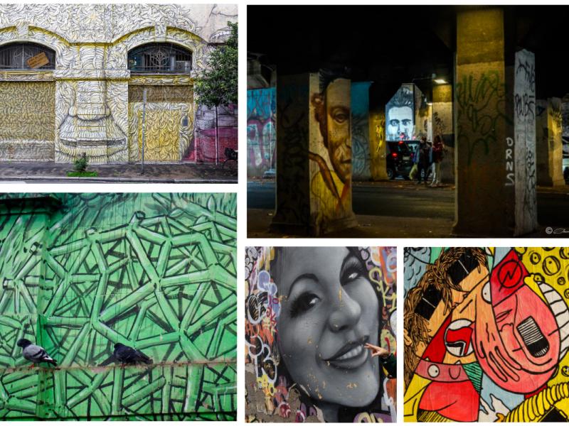Street art a Ostiense, via delle conce