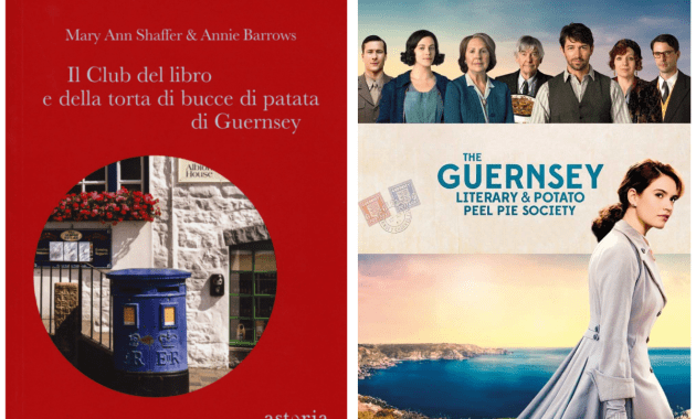 Libri e film a confronto – Il Club del libro e della torta di bucce di patata di Guernsey di Mary Ann Shaffer & Annie Barrows