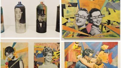 Demetrio Di Grado. L'arte, l'ironia, la carta e la colla