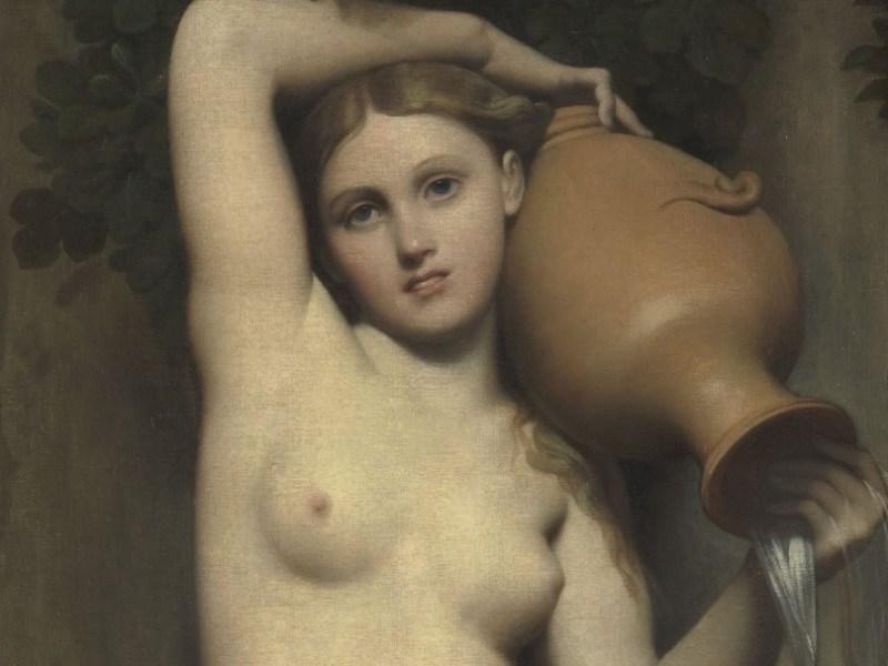 Il dipinto del 1856: La sorgente di Jean Auguste Dominique Ingres