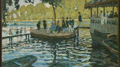Il dipinto del 1869: La Grenouillère di Claude Monet