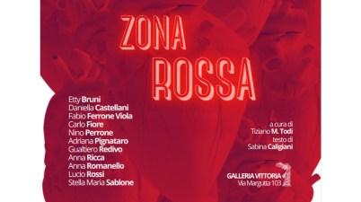 Zona rossa, il colore dell'amore secondo undici artisti