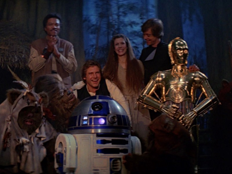 Il film del 1983: Il ritorno dello Jedi e i suoi tre diversi finali