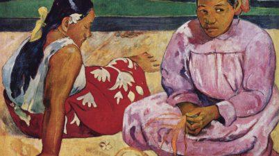 Due donne tahitiane di Paul Gauguin