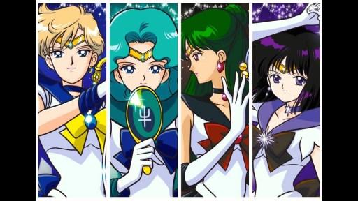 Sailor Moon sistema solare esterno