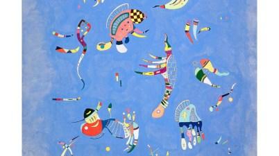 Vasilij Kandinskij, Blu di cielo