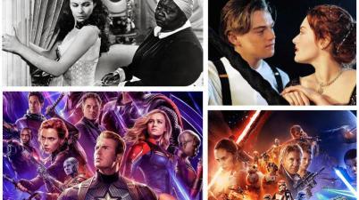 via col vento, titanic, star wars, avengers, classifica,