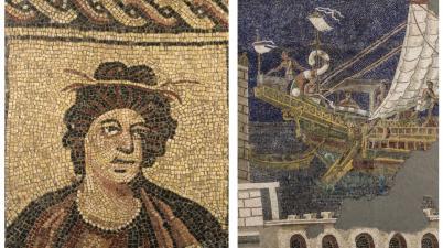 Colori dei Romani, i mosaici delle collezioni capitoline alla Centrale Montemartini