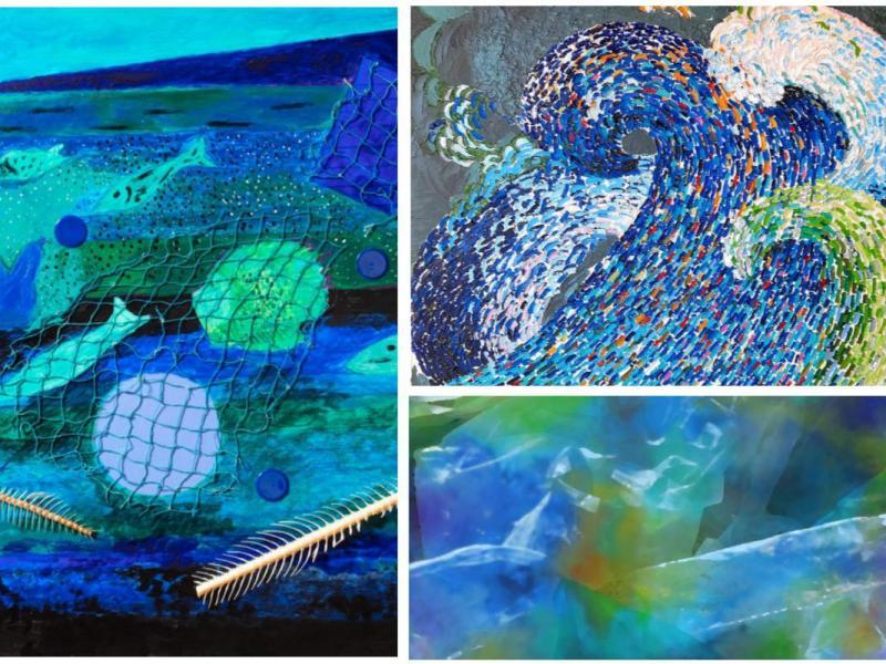 Immersioni, mostra, Galleria Vittoria,