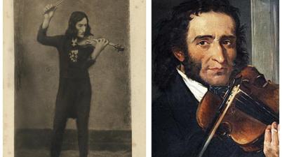 La (vera) storia della (falsa) foto scattata a Niccolò Paganini