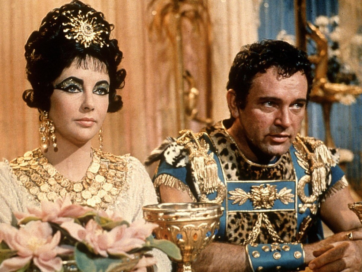 cleopatra, film, Taylor, 1963