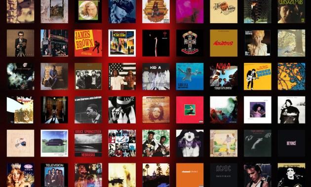I 500 album più belli di sempre, la classifica di Rolling Stone