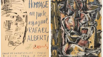 ExiliArte, una mostra per il poeta Rafael Alberti all'Instituto Cervantes