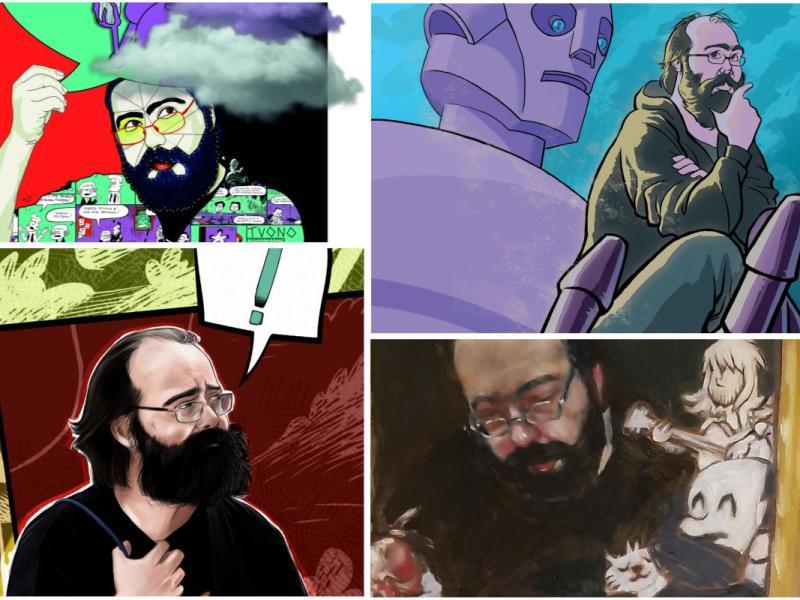 Tuono il magnifico, una mostra-evento in ricordo del fumettista Tuono Pettinato