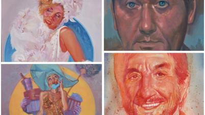 Stars & Starlettes, Mauro De Luca in mostra tra astri in versione Pin-Up e ritratti di star