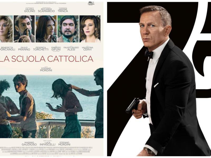 Box office in Italia: nel weekend No time to die e La scuola cattolica in vetta