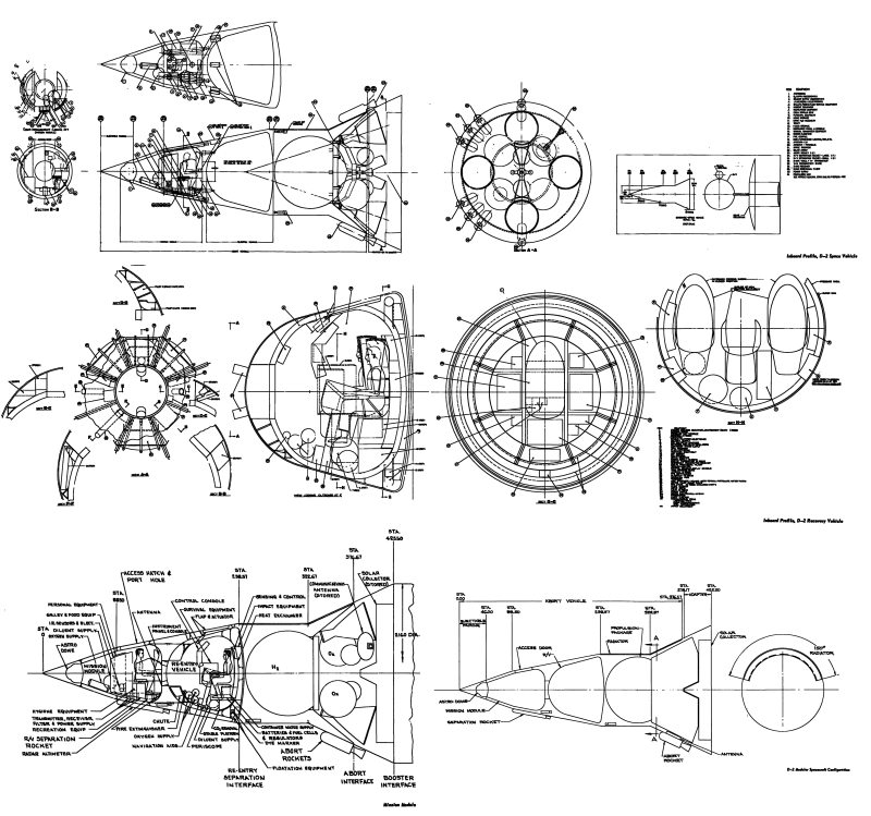 General Electric D-2 Apollo drawings » The Unwanted Blog