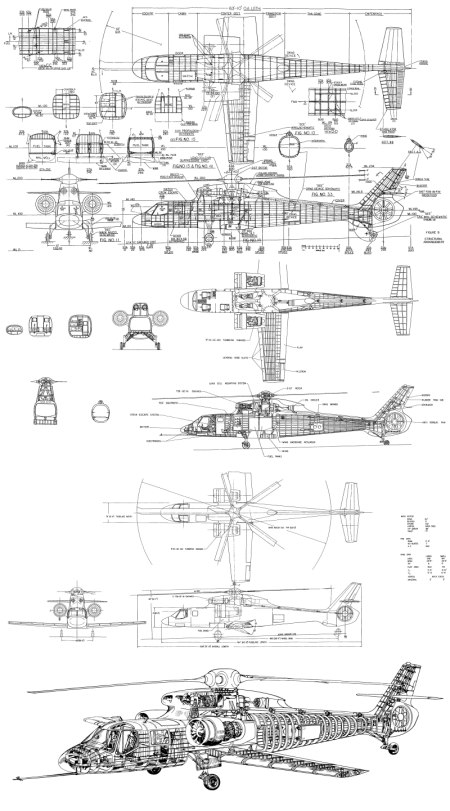 New Aircraft Drawings: Early RSRA concept diagrams » The
