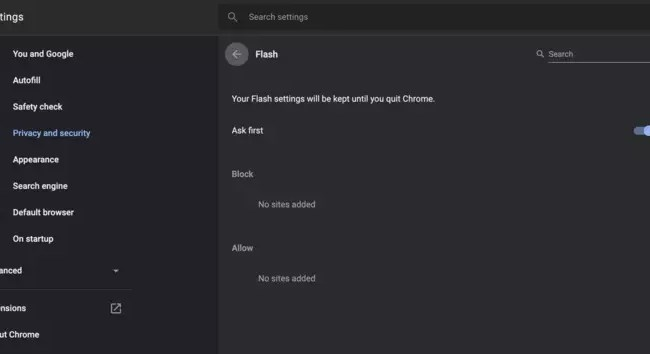 How to Unblock Adobe Flash Player in Google Chrome