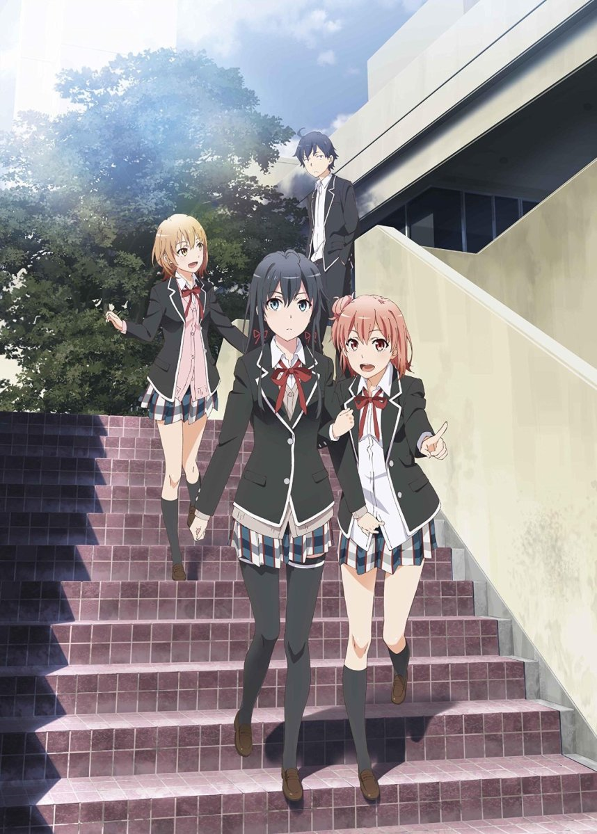 Yahari Ore no Seishun Love Comedy wa Machigatteiru Zoku [BD MKV 1080p]