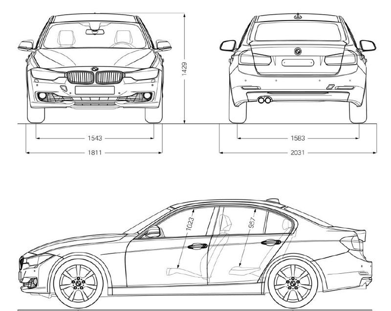 BMW Série 3 VI [Berline F30, Touring F31, M3 F80] [2011