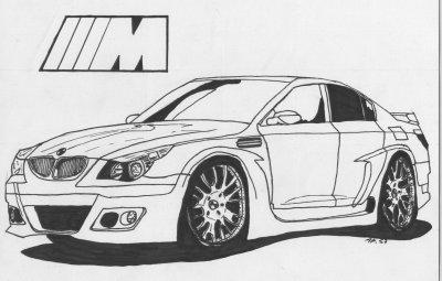Comment dessiner une bmw