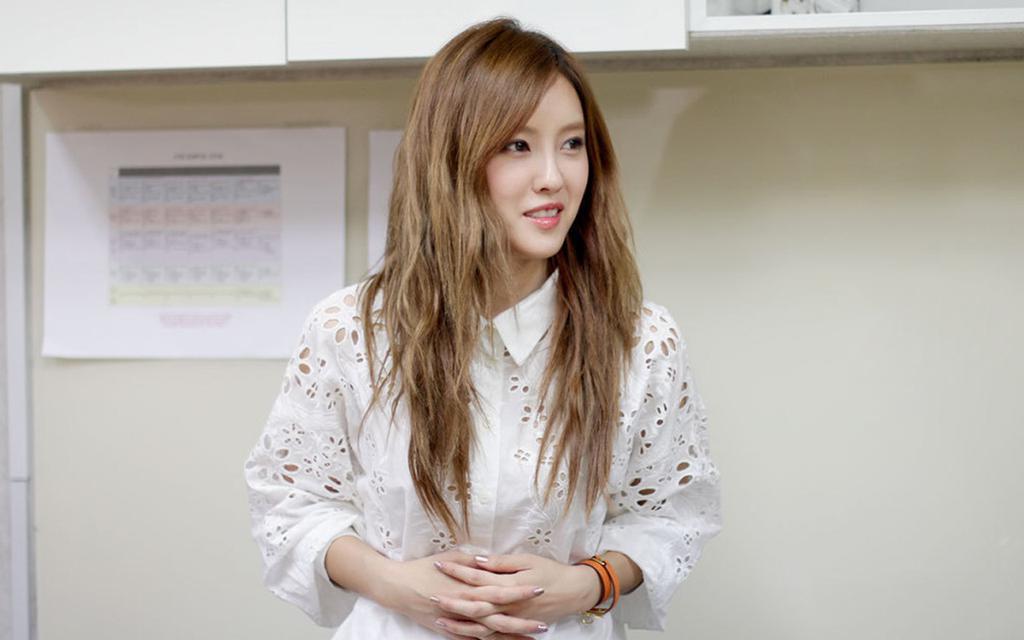 T-ara成員樸孝敏,高清壁紙圖片,日韓明星-回車桌面