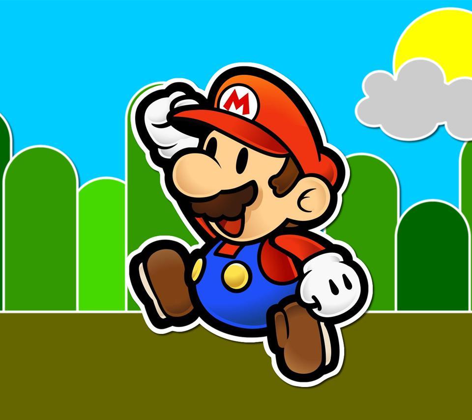 Hd Wallpaper Mario 超级玛丽 锁屏图片 高清手机壁纸 回车桌面