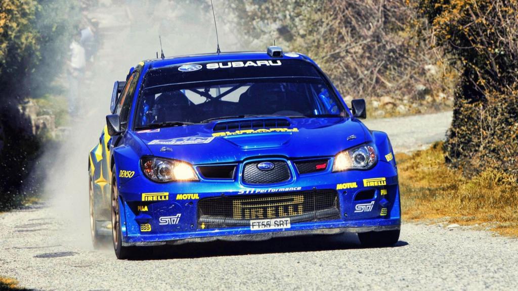 Subaru Wrx Rally Car Wallpaper 斯巴鲁翼豹wrx Sti 高清图片 汽车壁纸 回车桌面