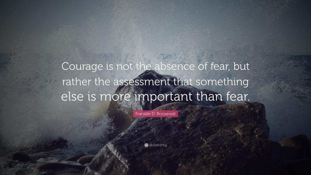 美國總統富蘭克林·羅斯福關于勇氣的名言,高清圖片,藝術壁紙-回車桌面
