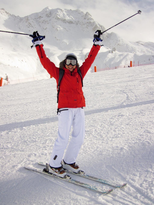 冬天的滑雪運動,圖片大全,高清,圖庫-回車桌面