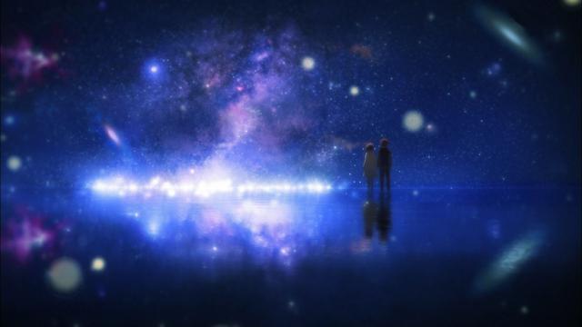 Anime Snow Wallpaper Qq情侣牵手图 高清壁纸图片 矢量图 回车桌面