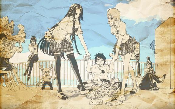 Wallpaper Hd One Piece 海贼王三 高清壁纸图片 动漫人物 回车桌面