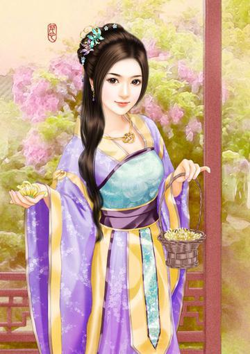 1920x1080 Wallpaper Fantasy Girl 古装美女手绘美图 图片大全 高清 图库 回车桌面