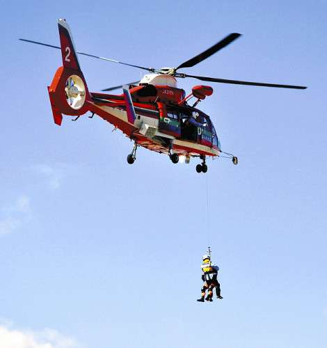 ヘリ救助「5萬円」,無謀な登山抑止へ…埼玉県